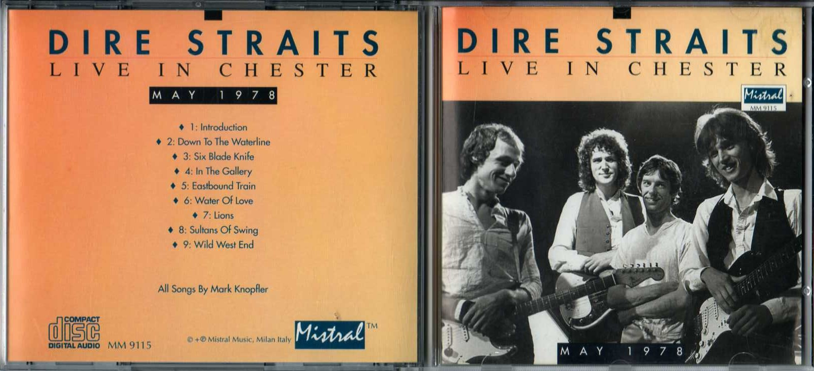 water of love dire straits